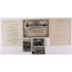 Consolidated Mining Company Stock and Ephemera NV - Aurora,Mineral County - 1916 - 2012aug - General