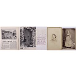 Early Aurora Resident Photos NV - Aurora,Mineral County - 1870 - 2012aug - General Americana