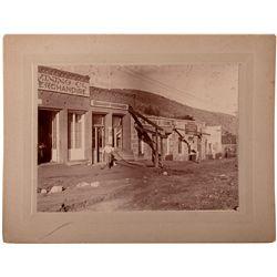Business Street Photograph NV - Austin,Lander County - c1890 - 2012aug - General Americana
