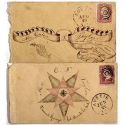 Postal Covers NV - Austin,2012aug - General Americana