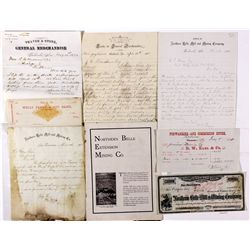 Bell Hill Mine Documents NV - Belleview,Esmeralda County - 1881 - 2012aug - General Americana