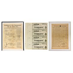 Nye County Mining Group NV - Belmont,Nye County - 1878-1907 - 2012aug - General Americana