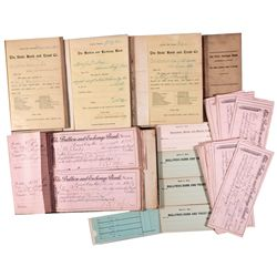Nevada Banking Ledgers and Checks Collection NV - Carson City, - 1895-1911 - 2012aug - General Ameri