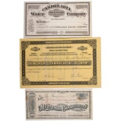 Columbus District Stock Certificates NV - Columbus,Esmeralda County - 1882 - 2012aug - General Ameri