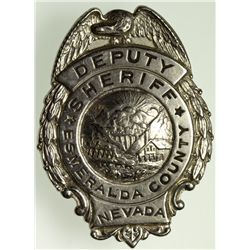Deputy Sheriff Badge NV - Esmeralda County,2012aug - General Americana
