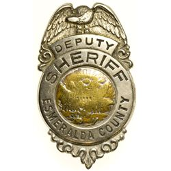 Deputy Sheriff Badge NV - Esmeralda County, -  - 2012aug - General Americana