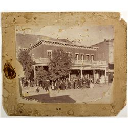 Jackson Hotel Photograph NV - Eureka, - 1890 - 2012aug - General Americana