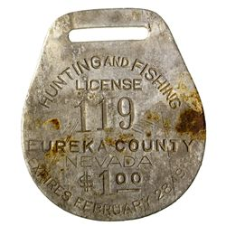 Eureka County Hunting Licenses NV - Eureka County,1911, 1913 - 2012aug - General Americana