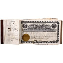Mining Co. Stock Certificates Book NV - Fallon,Churchill County - 1940 - 2012aug - General Americana