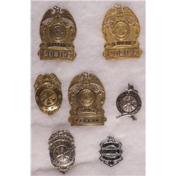 Police and Fire Badges NV - Fallon,Churchill County - 2012aug - General Americana