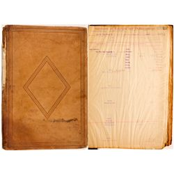New York Mining Company Ledger NV - Gold Hill,Storey County - 1887-1908 - 2012aug - General American