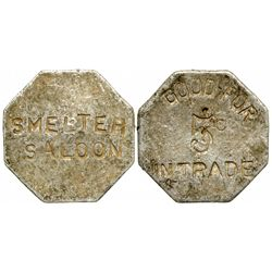 Smelter Saloon Token NV - McGill,White Pine County -  - 2012aug - General Americana