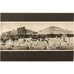 Tonopah Parade Scene Photograph NV - Nye County, - c1910 - 2012aug - General Americana