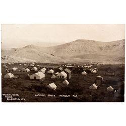 Mining Town Postcard NV - Pioneer,Nye County - 1909 - 2012aug - General Americana