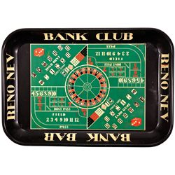 Bank Club Serving Tray NV - Reno,Washoe County - 2012aug - General Americana