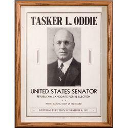 Oddie Campaign Broadside NV - Reno,Washoe County - 1932 - 2012aug - General Americana