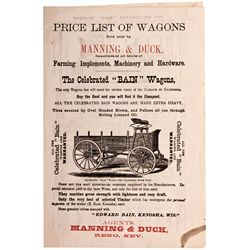 Reno Wagon Catalog NV - Reno,Washoe County - c1878 - 2012aug - General Americana