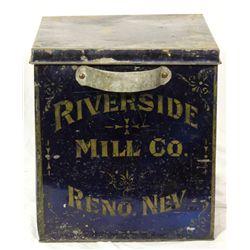 Riverside Mill Co. Flour Bin NV - Reno,Washoe County - 1900-1924 - 2012aug - General Americana