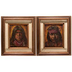 Virginia City Framed Paintings NV - Storey County, -  - 2012aug - General Americana