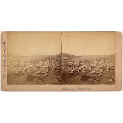 Virginia City Stereocard NV - Storey County,c 1868 - 2012aug - General Americana
