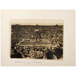 Jefferies and Johnson Fight Photograph NV - Tonopah,Nye County - 1910 - 2012aug - General Americana