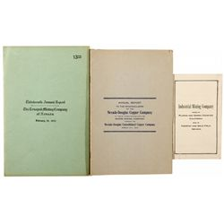 Mining Companies' Annual Reports NV - Tonopah,Nye County - 1915 - 2012aug - General Americana