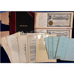 Palmetto Mining Co. Documents NV - Tonopah,Nye County - c1927 - 2012aug - General Americana