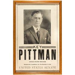 Pittman Campaign Broadside NV - Tonopah,Nye County -  - 2012aug - General Americana