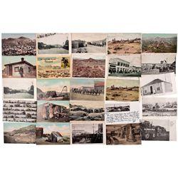 Tonopah & Goldfield Post Cards NV - Tonopah,Nye County - 1905-1910 - 2012aug - General Americana