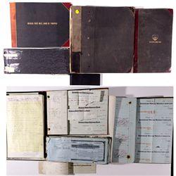 Tonopah Ledgers/ Books NV - Tonopah,Nye County - 1915, 1926 - 2012aug - General Americana