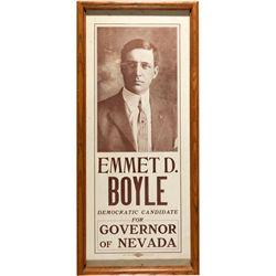 Boyle Campaign Broadside NV - Virginia City,Storey County - c1918 - 2012aug - General Americana