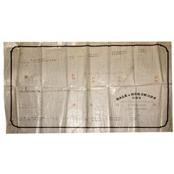 Hale & Norcross Company's Mining Works Blueprint NV - Virginia City,Storey County - 1866 - 2012aug -
