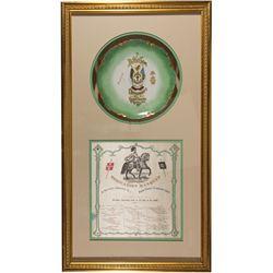 Knights of Templar Framed Items NV - Virginia City,Storey County - 1869, 1890 - 2012aug - General Am