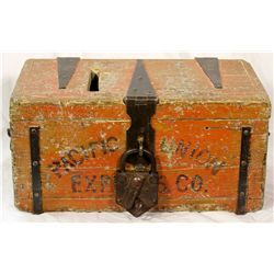 Pacific Union Express Co. Treasure Box *Territorial* NV - Virginia City,Storey County - c1860 - 2012