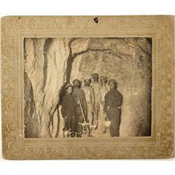 President U.S. Grant - Virginia City Cabinet Photograph NV - Virginia City,Storey County - c1879 - 2