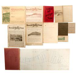 Rare Virginia City Publications NV - Virginia City,Storey County - 1900 - 2012aug - General American