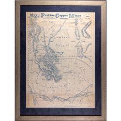 Peavine Mine Map NV - Washoe County,1867 - 2012aug - General Americana
