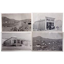 Mining Town Scene Postcards NV - Wonder,Churchill County - 1911 - 2012aug - General Americana
