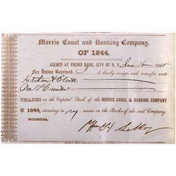 Early Bank Stock NY - New York,1845 - 2012aug - General Americana