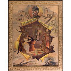 Coal Advertising Broadside OH - Dayton,Montgomery County - 1887 - 2012aug - General Americana