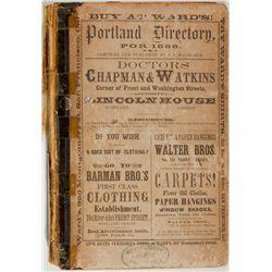 Portland City Directory OR - Portland,Polk County - 1866 - 2012aug - General Americana