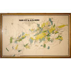 Gorlinski Utah Mine Map UT - Park City,Summit County - 1902 - 2012aug - General Americana