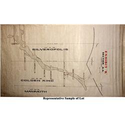 Mammoth Mine Level Map Collection UT - Eureka,c1900 - 2012aug - General Americana