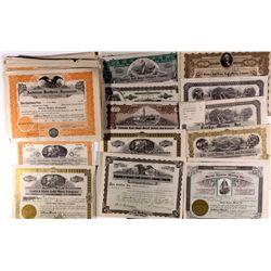 Washington Stock Certificate Collection WA - 2012aug - General Americana