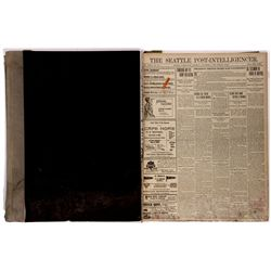 Bound Volume of Seattle Newspapers WA - Seattle,King County - 2012aug - General Americana