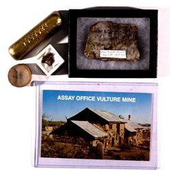 Vulture Mine Suite AZ - Wickenberg,Maricopa County - 1860-1940 - 2012aug - Mineral Specimens