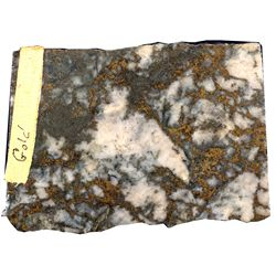 Jewelry Ore Golden Chariot Mine CA - Banner,San Diego County - 1871-1873 - 2012aug - Mineral Specime
