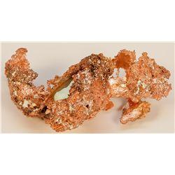 Copper - Silver Crystal Mineral Specimen MI - 2012aug - Mineral Specimens