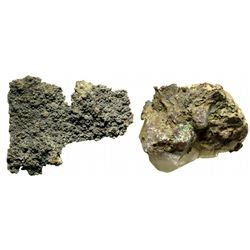 Delamar Ore and Button Specimens NV - Delamar,Lincoln County - 2012aug - Mineral Specimens
