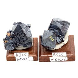 Cuprite , Silver, And Miersite Mineral Specimens 2012aug - Mineral Specimens